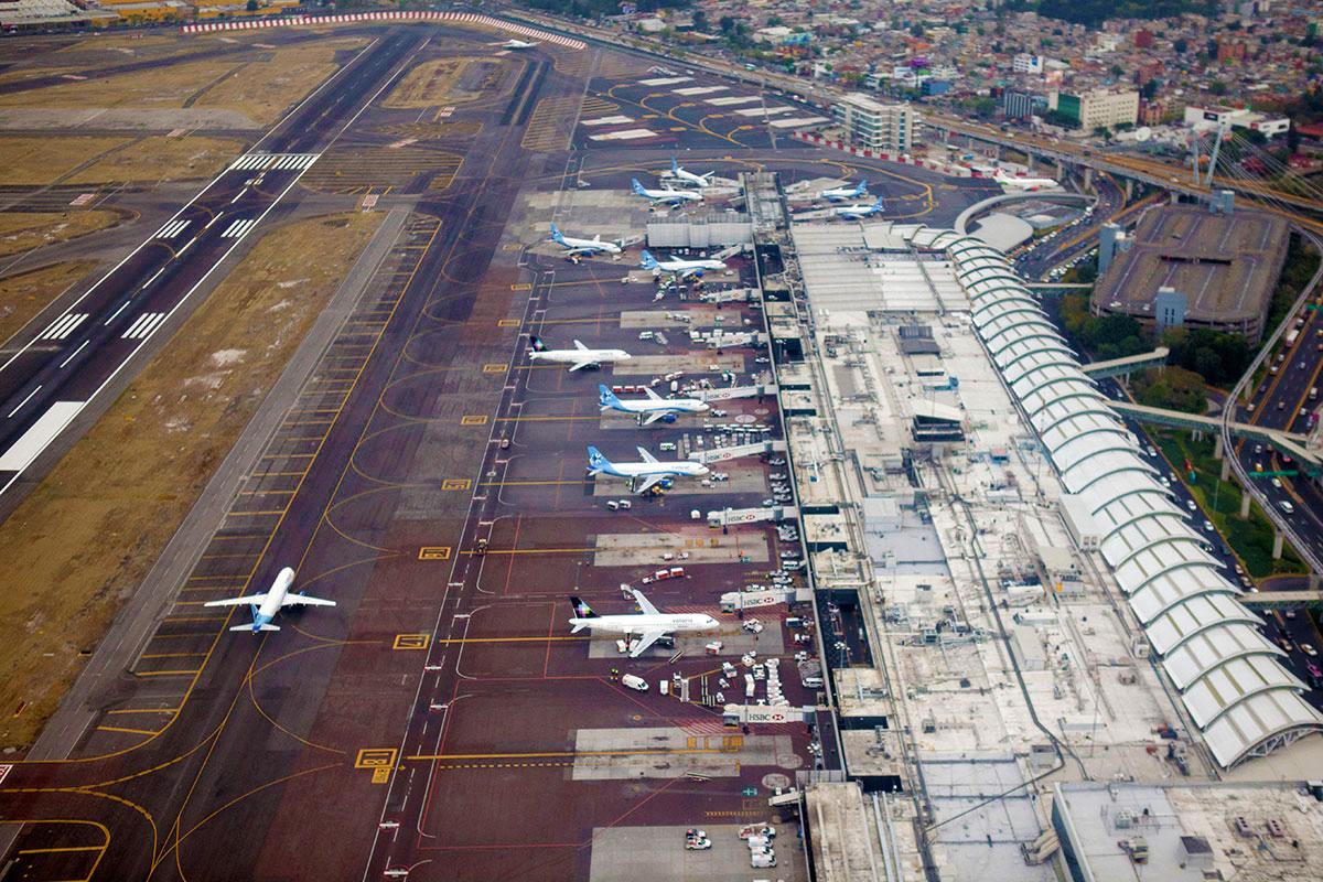 Aeropuerto de la Ciudad de México Terminal 1 Benito Juárez.