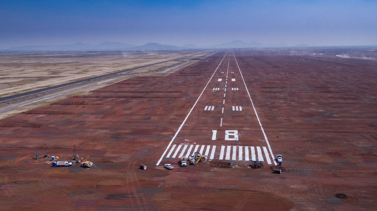 pista-3 Nuevo aeropuerto de la ciudad de mexico